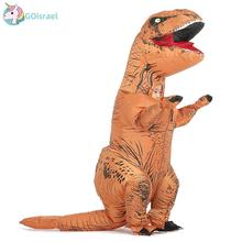 Dinosaur Trex Cosplay for Kid Unisex Jumpsuits Halloween Carnival Party Purim Happy Birthday Animal T-Rex Inflatable Costume