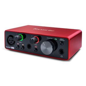 Image 2 - Interface de áudio focusrite scarlett, interface de áudio focusrite scarlett, nova versão solo de focusrite scarlett 3rd gen 2 2 entrada saída usb, & nbsp; placa de som para gravação