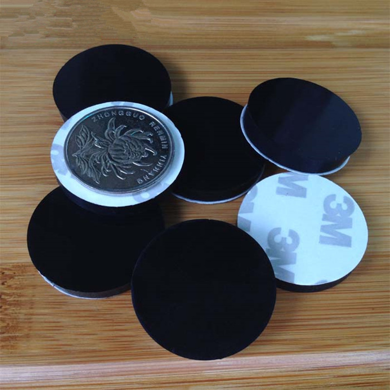 Anti Slip Silicone Rubber Pads 30mm 5mm, Rubber Pads For Furniture Feet