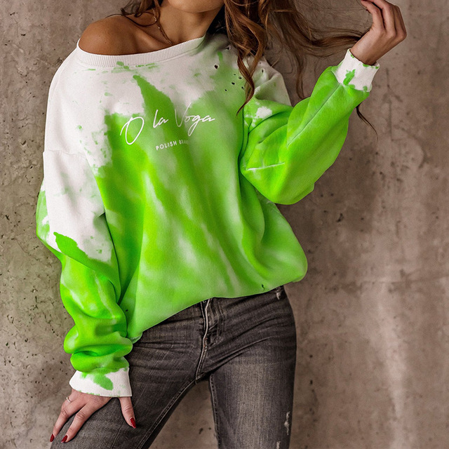 2021 Spring Autumn Women Blouses Shirt Sweatshirts Casual O-Neck Women Tops and Blouse Loose Long Sleeve Print Shirts Pullovers 3