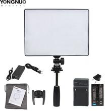 YONGNUO YN300 אוויר YN 300 אוויר Pro LED מצלמה וידאו אור צילום אור עבור Canon Nikon Pentax Sony אולימפוס DSLR מצלמה