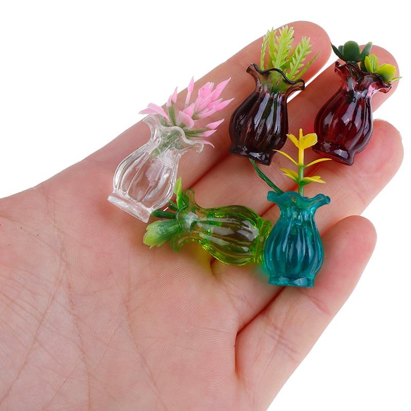 5pcs Handmade Ceramic Flower Pot With Free Shipping