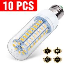 10PCS E27 Led Lamp 220V E14 Corn Lamp 3W 5W 7W 9W 12W 15W GU10 Lampada Led Bulb G9 Led Lamp Light B22 Chandelier Lighting 240V