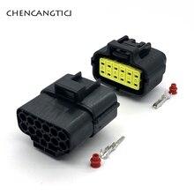 2 комплекта 12 Pin way Male Female AMP Denso автомобильный водонепроницаемый датчик шестерня-коннектор-штекер датчика переключения 174661-2 174663-2 368537-1