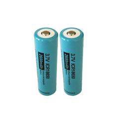2Pcs/lot PKCELL 18650 Battery 3.7V 2600mAh Li-ion Lithium Battery li ion ICR18650 Rechargeable Batteries Baterias button top