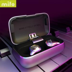 Image 3 - MIFO O5 In Ear słuchawki HIFI oryginalne słuchawki bezprzewodowe Bluetooth 5.0 zestaw słuchawkowy obustronne Mini wodoodporne słuchawki douszne O2 X1 X1E I7 I8 E12 TW100