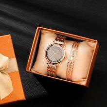 2 шт Подарочный набор коробка часы для женщин модный дизайн