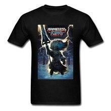 T-Shirt Senza Nome Re Da Uomo Tshirt Dark Souls 3 Gioco Della Maglietta eloil Sole Gamer Magliette Slim Fit In T Shirt