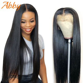 Malaysian Straight Lace Front Human Hair Wig 13x6 Lace Wigs 130%/150% Density Abby Hair Silky Straight Wigs For Black Women