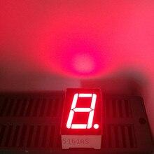 """100 قطعة 1 أرقام 7 قطعة 0.56 بوصة الأنود المشترك الكاثود عرض 0.56 LED 7 الجزء عدد العرض 1Bit 0.56 """"الأحمر LED العرض الرقمي"""