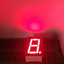 "100Pcs 1digit 7segment 0.56inch Common Anode Cathode Display 0.56 LED 7Segment Number Display 1Bit 0.56"" Red LED Display Digital"