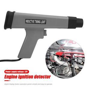 Image 1 - Sincronismo de ignição luz cronometragem lâmpada estroboscópica detector com display digital led indutivo sincronismo ferramenta diagnóstico do carro ferramenta reparo