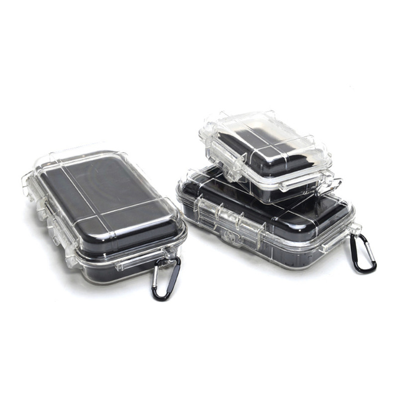Safety Case Outdoor Shockproof Sealed Dry Box Safety Equipment Dry Box Outdoor Tools Waterproof ABS Plastic Tool Tools