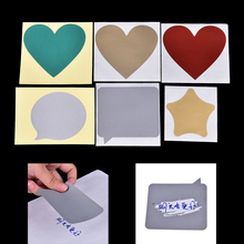 5pc% 2Flot DIY Valentine% 27s Day Postcards Coating Scratch CARDS Message Hidden Sur показано Vintage Postcards Set Scratch Sticker