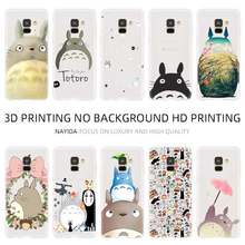 Telefon kılıfı yumuşak Samsung Galaxy A10 A20 E A30 A40 A70 A50 A60 A80 A90 a10s a20s a30s a70s m40 Totoro Portal kurum Sprite