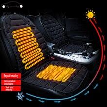 1-2 kits Car heating cushion 12V electric Universal single seat 96*46cm