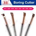 BB Carbide Lathe Boring Cutter Coated Mini Internal Turing Tool Copying Small Hole MTR MQR MUR MPR MKR MNR MXR 4mm 5mm 6mm
