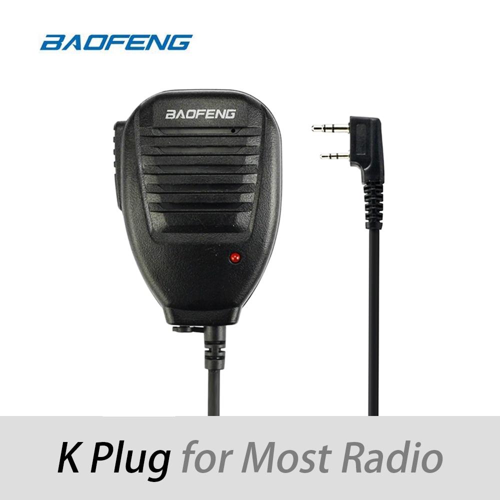 Baofeng Two Way Radio Walkie Talkie Handheld Microphone Speaker MIC For UV-5R Pofung UV 5R UV-B5 UV-B6 BF-888S BF-666S