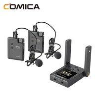 BoomX-micrófono inalámbrico boomx-u U1 U2, Mini micrófono para radiodifusión, UHF, receptor de transmisores, Kit para cámara de teléfono DSLR