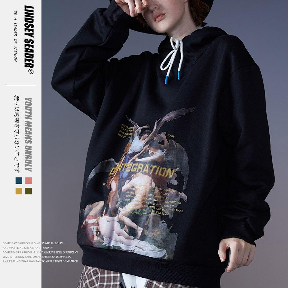 Mens Women Men Hip Hop Hoodie Sweatshirt Renaissance Painting Harajuku Streetwear Hoodies Fleece Warm Autumn Europ Style