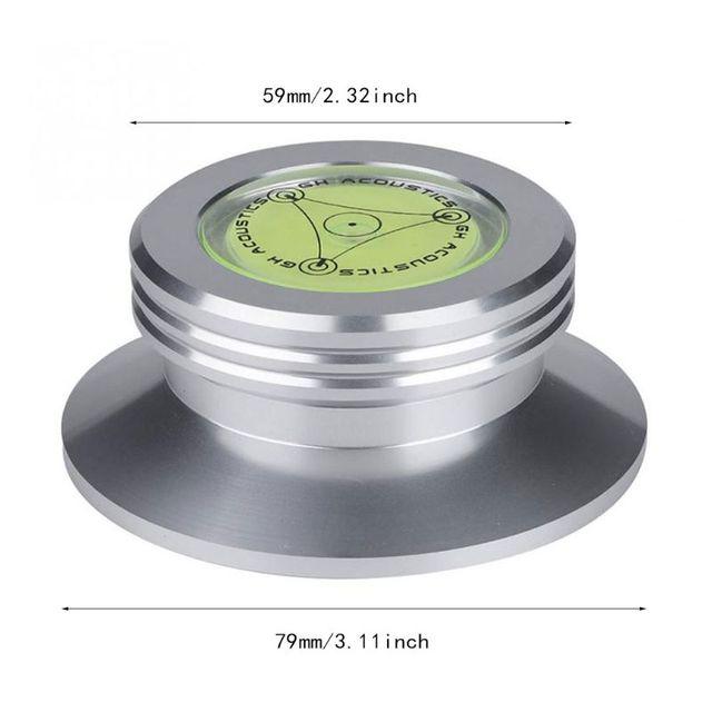 Aluminium Record poids pince LP vinyle platines métal disque stabilisateur pour disques lecteur accessoires disque stabilisateur