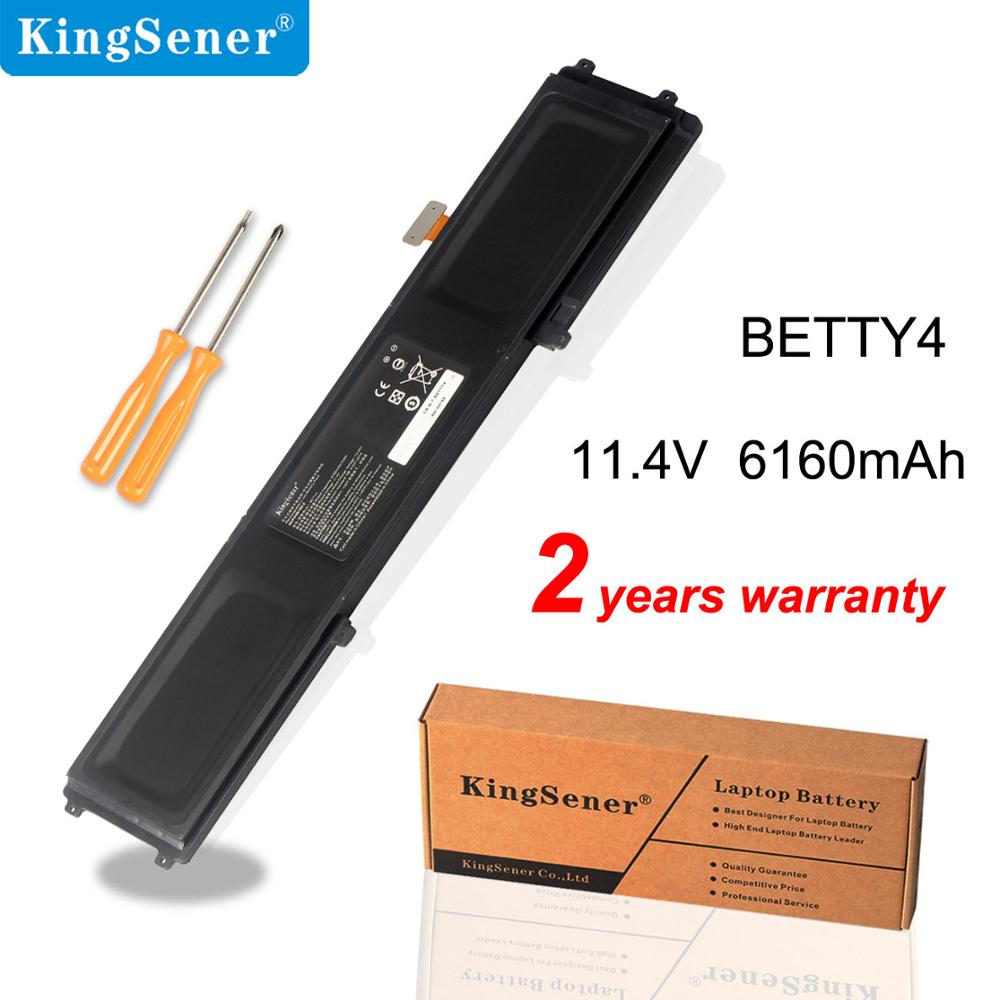 KingSener BETTY4 Laptop battery for Razer Blade 2016 14 V2 Series RZ09-0195 RZ09-0165 RZ09-01953E72 RZ09-01953E71 RZ09-01952E31 image