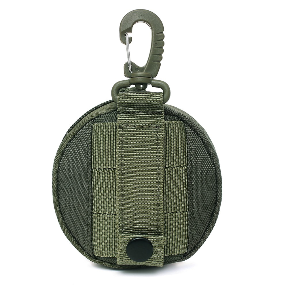 running - Tactical EDC Pouch Mini Key Wallet Holder Men Coin Purses Pouch Military Army Coin Pocket with Hook Waist Belt Bag for Hunting