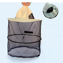 Summer New Foldable Anti Mosquito Hat Outdoor Breathable Fishing Cap Sun Protection Insect-Proof Cap Mesh Portable Fishing Hat unisex summer sun hat sun protection foldable hat riding cap outdoor hunting fishing cap hat for cycling running daily sports