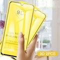 Закаленное стекло 9D для Huawei Y6 Pro, Y7 Lite, Y5 2018, Y9 Prime 2019, Y6, Y 5, 2 шт.