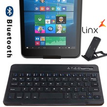 Portable Wireless Keyboard Wireless Bluetooth Keyboard for Linx 7 / Linx 8 / Linx 820 8 Inch Tablet Rechargeable Keyboard