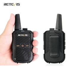 Retevis RT15 Mini Walkie Talkie 2 Stuks Draagbare Twee Manier Radio Station Uhf Vox Usb Opladen Transceiver Communicator Walkie-talkies