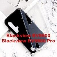 Funda para Blackview BV9900 BV9900E, cubierta trasera transparente de TPU suave para Blackview BV9900 Pro BV9900Pro