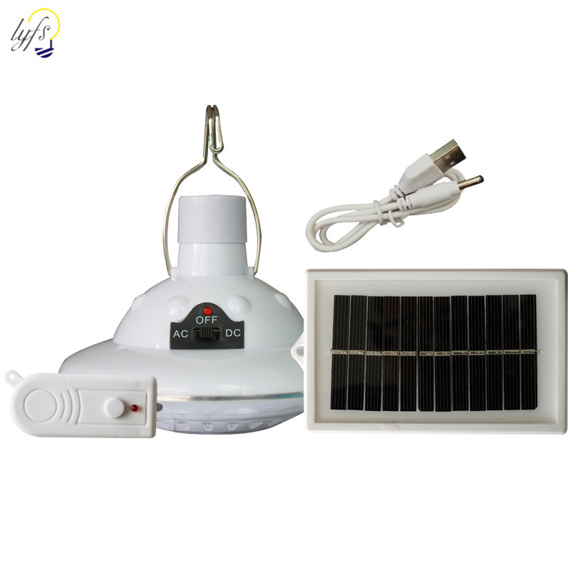 LED Solar Light With Remote Control Split Type Adjustable Light Outdoor  Waterproof Solar Roadside Garden Decoration  Solar Lamp