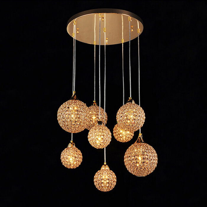 Modern Luminaire Glass Ball Bedroom  Restaurant  Hanglamp