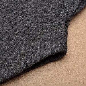 Image 5 - Gorąca sprzedaż spodnie męskie zagęścić męskie legginsy z dzianiny Cashmere ciepłe spodnie męskie 93 105 cm długości wełniane spodnie zima Knitting legginsy