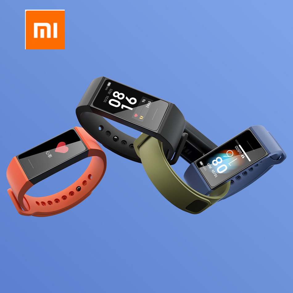 2020 Newest Original Xiaomi Redmi Band 2020 Smart Bracelet 5ATM 1.08 Bluetooth 5.0 Heart Rate Sleep Sports 14 Days