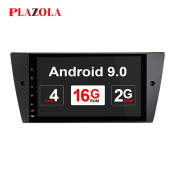 Autoradio 1Din Android 9.0 System Car GPS Stereo No DVD Player For BMW E90 Sedan 2005-2012 E91 E92 E93 2G+32G Navi DVR OBD2 DSP image