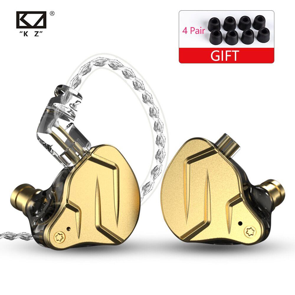 KZ ZSN PRO ZSN PRO X 1BA 1DD KZ Hybrid Earphone Headset HIFI Earbuds In Ear Monitor Headphones Earbuds For ZST ZST X ZSX