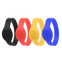10Pcs 125Khz TK4100 RFID Wristband Silicone Bracelet IP68 Waterproof ID Card for Swimming Pool/Sauna Room/Storage/Cabinet