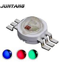 10 шт. 9 Вт светодиодный RGB высокой мощности 6 футов сценический светильник красный зеленый синий чип светодиодный светильник