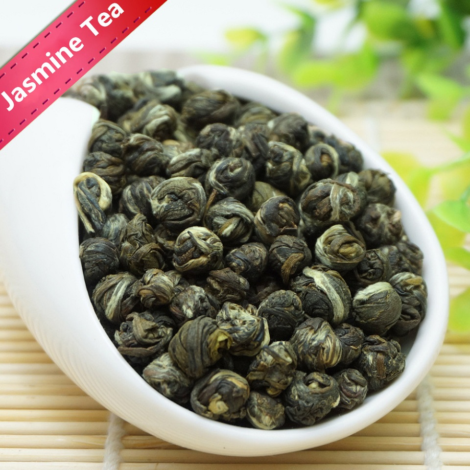2019 Jasmine Tea Pearls Natural Fresh Jasmine Dragon Pearl Green Tea