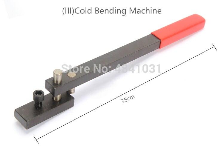 Проволочный изгибатель/гибочный станок SIEG/станок холодной гибки/инструмент для гибки металла