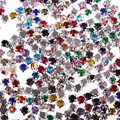 300 шт. пришить со стразами идеально сочетаются с нарядным кристаллы Акриловые стразы украшения 4 мм/6 мм