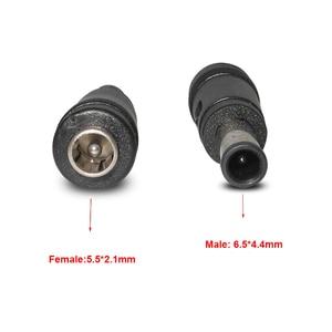 5,5*2,1 мм гнездо до 6,0*4,4 мм штекер адаптера питания постоянного тока Разъем для постоянного тока наконечник 5,5x2,1 до 6,0x4,4 для ноутбука Sony Vaio