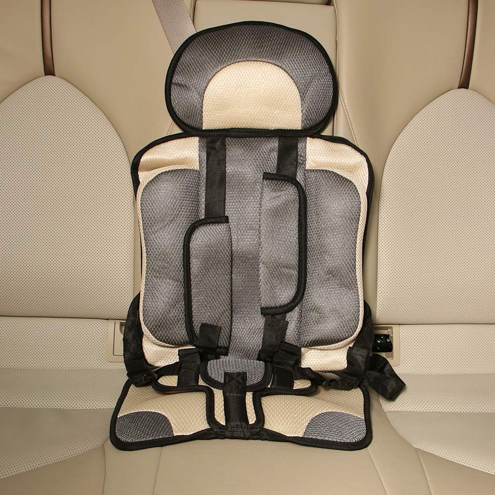 Portable Infant Seat Safety Anti-Slip Soft Adjustable Buckle Baby Chairs Comfortable Armchair Travel Folding Chair For Babies
