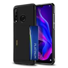 For HUAWEI P30 Lite/Nova 4e DUX DUCIS Pocard Series Slim Case Anti-Slip with Card Holder Anti-Fingerprint Shook-Proof Smoothly
