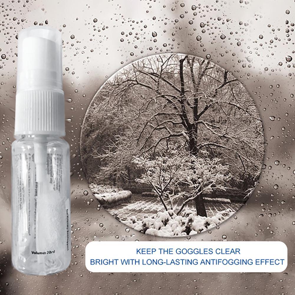 Lens Antifogging Agent Mirror Clear Car Window Glass Anti Fogging For Bathroom Glass Window Anti Fogging Spray