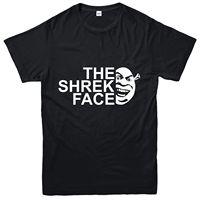 The Shrek Face T Shirt, Fantasy Adventure Movie Inspired Spoof Tee Top