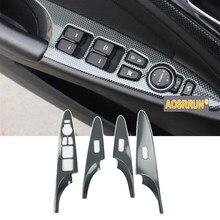 Araba iç pervaz pencere kaldırıcı için Hyundai Sonata YF 2015 2010 2011 2012 2013 2014 aksesuarları