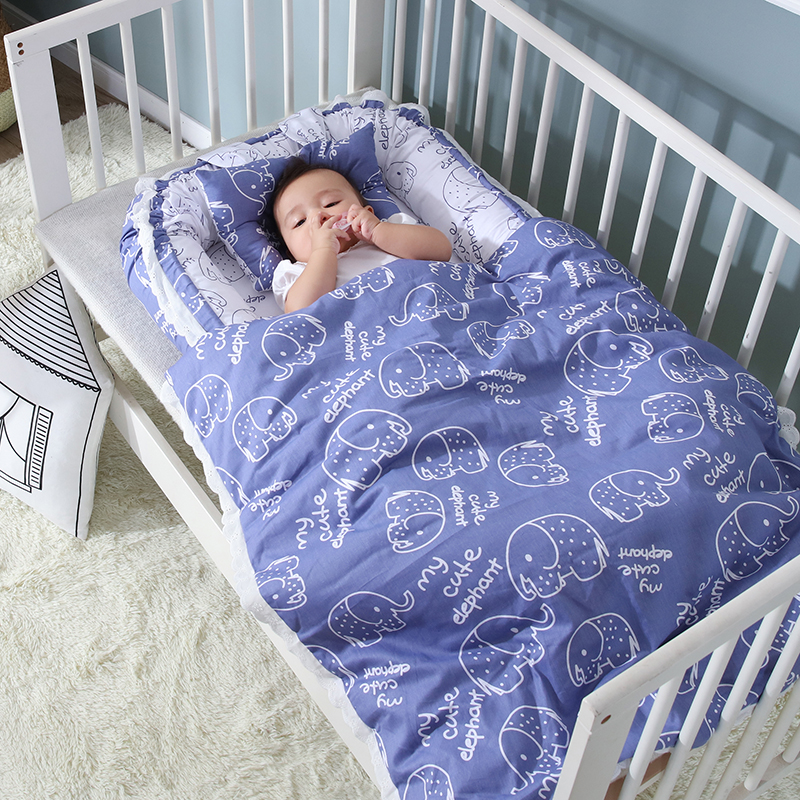 Baby Sleeping Artifact Car-borne Baby Bed/Baby Bed In Baby Bed Bb Separation Bed Pressure-proof Neonatal Portable Bed